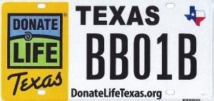 DLT License Plate