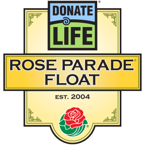 2018 Donate Life Rose Parade Float – It's About Time!