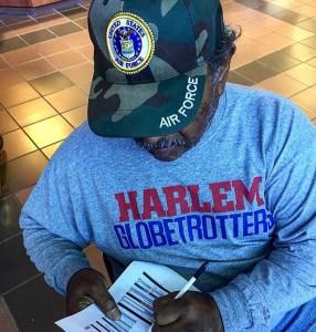 Veteran registering